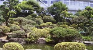 K高校庭園